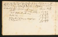 Page [10], receipt dated April 14, 1773, and accounts