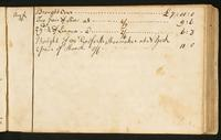 Page [113], accounts dated New York, August 16, 1774, continued