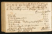 Page [128], receipt dated July 31, 1773, and accounts