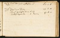 Page [143], accounts dated August 1774 and May 1775