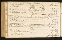 Page [144], accounts dated 1770