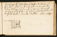 Page [147], receipt dated June 20, 1774