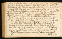 Page [170], account of the death of Abigail Watson on March 6, 1774