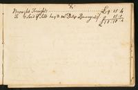 Page [173], 'Freights carried in my schooner John to New York May 21 1773', continued