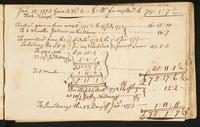 Page [183], accounts dated 1773