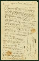 A letter from John B. Sutherland  to Mary Guion dated March 25, 1806 (continued).