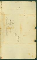An undated letter (received May 16, 1806?) from Joel Clark to Mary Guion containing a poem (address).