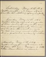 Vol. 1, p. 101, diary entries for May 16 to May 18, 1863.