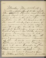 Vol. 1, p. 106, diary entry for May 25, 1863.