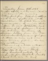Vol. 1, p. 123, diary entry for June 9, 1863.