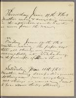 Vol. 1, p. 125, diary entries for June 11 to June 13, 1863.