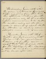 Vol. 1, p. 128, diary entries for June 17 and June 18, 1863.
