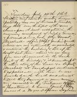 Vol. 1, p. 152, diary entry for July 14, 1863.