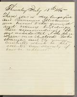 Vol. 2, p. 286, diary entry for July 13, 1865.
