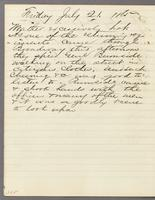 Vol. 2, p. 285, diary entry for July 21, 1865.