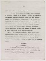Typescript draft copy of the LCU constitution and bylaws, undated, p. 3.
