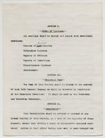 Typescript draft copy of the LCU constitution and bylaws, undated, p. 7.