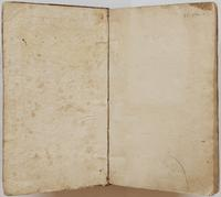 Richard Varick account book, 1775-1790, endpapers.