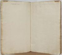Richard Varick account book, 1775-1790, blank pages.