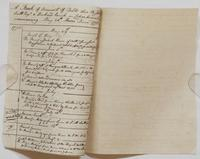Richard Varick account book, 1775-1790, detached pages: 'A Book of Account of Debts due to John Scott, Esqr., & Burchard Varick in Copartnership commencing May 28, Dom. 1773,' p. [1], May 29, 1773-August 2, 1773.