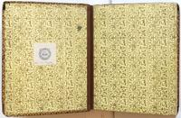 Diary, endpapers.