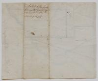A Map of the Lands between the Connosserage & the East bounds of the Military Lands,' undated, verso.