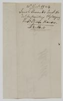 Account and receipt from Jacob Sherred to Richard Varick for payment received, dated December 31, 1804, verso.