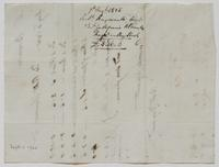 Account and receipt from Robert Hayward to William [?] Bramble for payment received, August 7, 1805, verso.