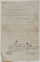 Account and receipt from George Gosman to Richard Varick for payment received, dated July 3, 1806, recto.