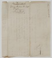 Account and receipt from George Ireland to Richard Varick for payment received, dated December 24, 1806, verso.