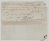 Account and receipt from Jacob Sherred to Richard Varick for payment received, dated December 30, 1806, recto.