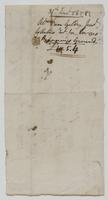 Account and receipt from Abraham Van Gilder to Richard Varick for taxes owed on 10th Ward property, December 21, 1808, verso.