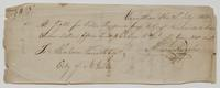 Request for Abraham Varick to pay Guy Richards, signed by Almon Ruggles of Vermillion, Ohio, July 21, 1813, recto.