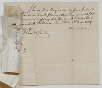 Receipts from Helena Lefferts for payments received from Richard Varick, November 2, 1829 to December [?] 1830, p. [3].