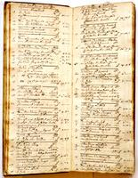 Journal, August 16, 1720 to October 12, 1720.
