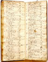 Journal, April 26, 1721 to June 7, 1721.