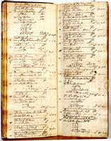 Journal, April 26, 1723 to June 12, 1723.