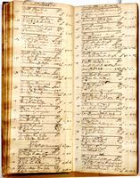 Journal, December 13, 1723 to March 3, 1724.