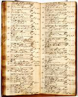 Journal, April 17, 1724 to June 3, 1724.