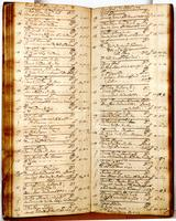 Journal, August 22, 1726 to October 14, 1726.