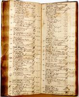 Journal, April 19, 1733 to May 12, 1733.