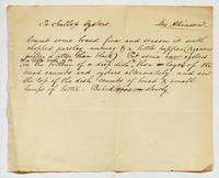 Recipe for scalloped oysters, undated.