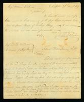 [Manuscript copy of letter from Joseph Wood to Mess. Garner & Dean]