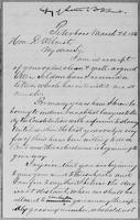 [Manuscript copy of a letter from Gerrit Smith to Hon. D. Wilmot]