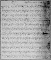 [Manuscript copy of a letter from Thomas Earle to G. Braburn, Esq.]