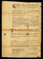 [Bill of taxation for the import of a slave to Philadelphia]