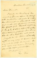 [Letter from Edmund Quincy to Francis Jackson]