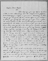 [Letter from Charles D. Cleveland to Captain Daniel Drayton]