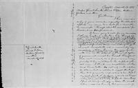[Manuscript draft of a letter from Lysander Spooner to Gerrit Smith, Lewis Tappan, William Goodell, and others]