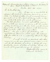 Copy of a correspondence between Edmund Jackson & Hon. Robt. C. Winthrop in 1840